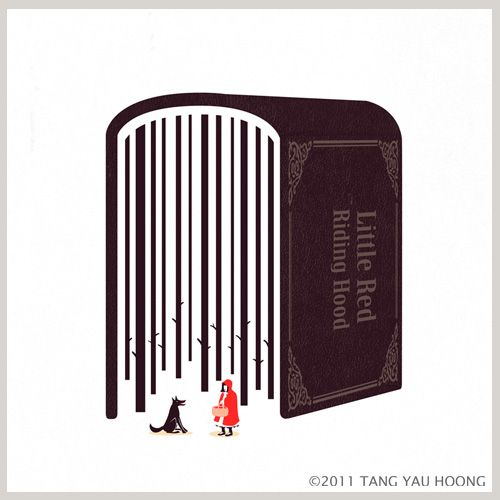Eye-catching use of negative space by Tang Yau Hoong (via subtraction http://www.subtraction.com/2011/08/22/tang-yau-hoong)