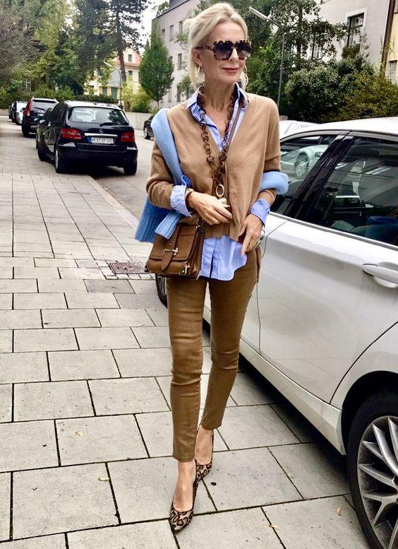 Tendencia de moda Cognac para otoño 2018 - #Cognac #moda #otoño #para #tendencia