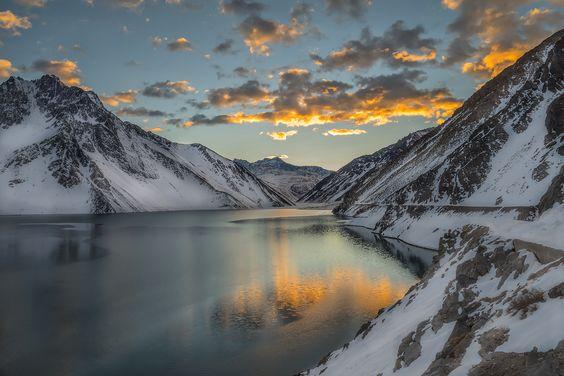 "https://flic.kr/p/vVy7V7 | ""Un calido amanecer de invierno"" |  Cajon del Maipo, Chile.:"