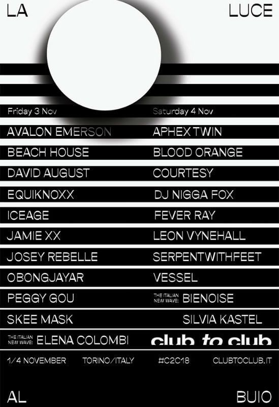 Club To Club European Festivals Electronics Festival Festivals Around The World