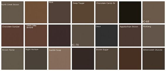 Dark brown paint colors: Designers' favorite brands + colors | Flickr - Photo Sharing!