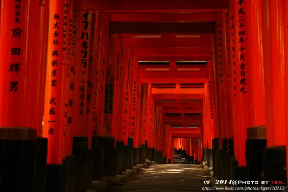 https://flic.kr/p/ocEK1M   Kyoto-Red torii