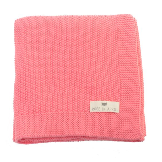 molly meg blanket, salmon pink