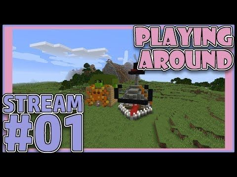 Eng Can Featuring Kreativekitty09 Playing Around Minecraft Stream 1 Minecraft Playingaround Minecradtkids Twitch Youtube Streaming Minecraft Play