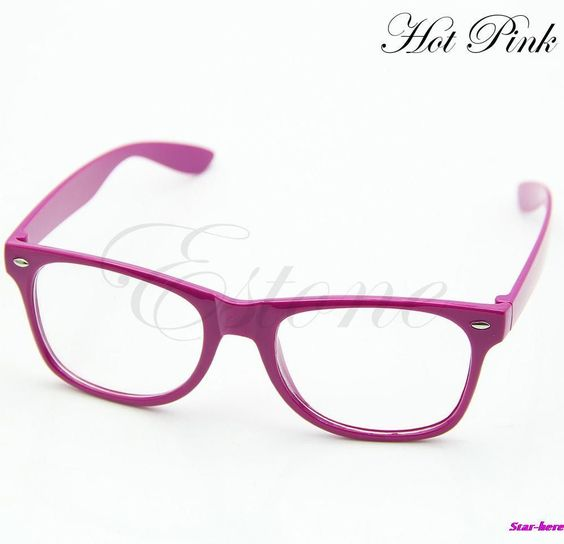 Unisex Candy Color Eyewear