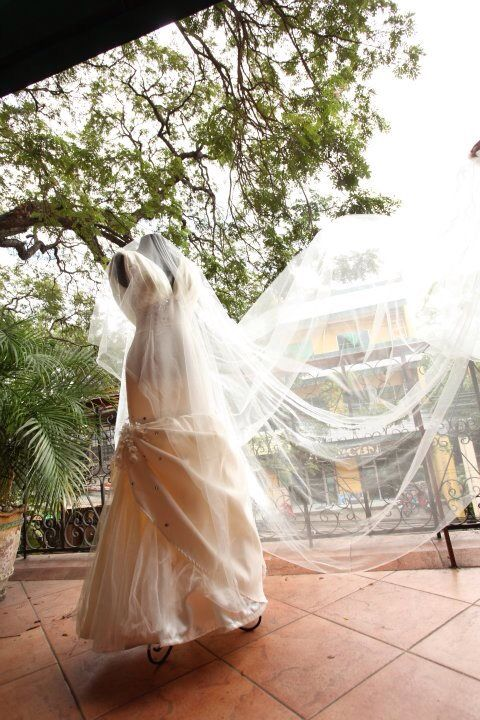 Wedding gown from a client in Dumaguete Philippines.