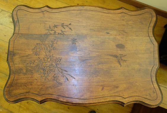 Tavolino da lavoro - Antiquariato Siciliano