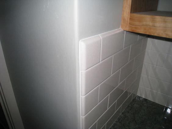 Subway Tile Bullnose Kitchen Renovation Pinterest
