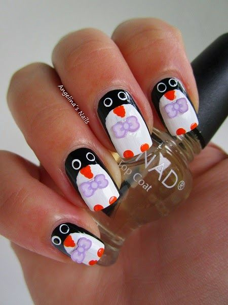 Angelina´s Nails & More: Pitsch Patsch Pinguin