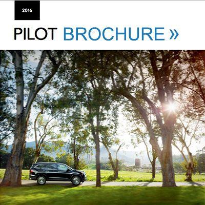 2016 honda pilot brochure pdf