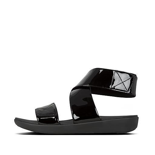 Carin Patent-Pu Back-Strap-Sandals