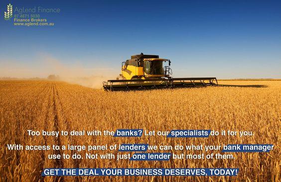 Equipment Finance Brokers www.aglend.com.au