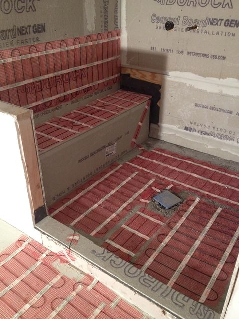 Electric Floor Heat In Bathroom : Warmup radiant floor heating systems electric