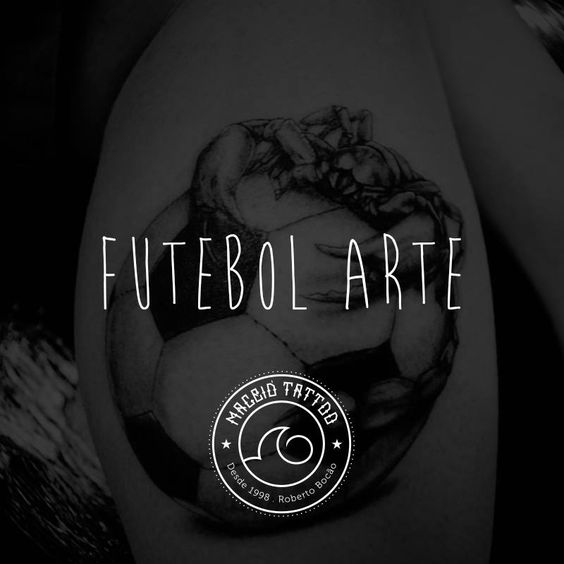 Futebol Arte   #TintaNaPele #ExpresseSuaIdeia