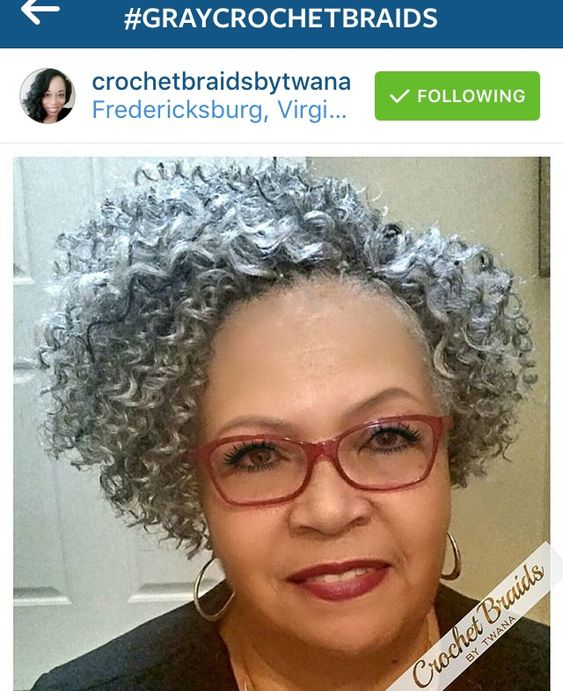 Crochet Protective Hairstyles : explore silver crochet grey crochet and more protective styles crochet ...
