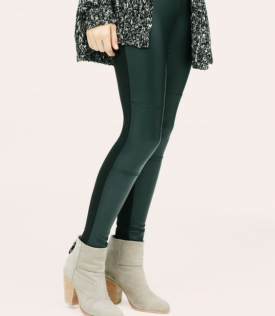 Thumbnail Image of Color Swatch 6600 Image of Lou & Grey Coated Twill Leggings