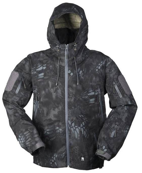 Mil-Tec Hardshell Jacke Breathable, Mandra Night / mehr Infos auf: www.Guntia-Militaria-Shop.de
