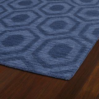 Trends Denim Loft Wool Rug (8' x 11') - Overstock™ Shopping - Great Deals on 7x9 - 10x14 Rugs