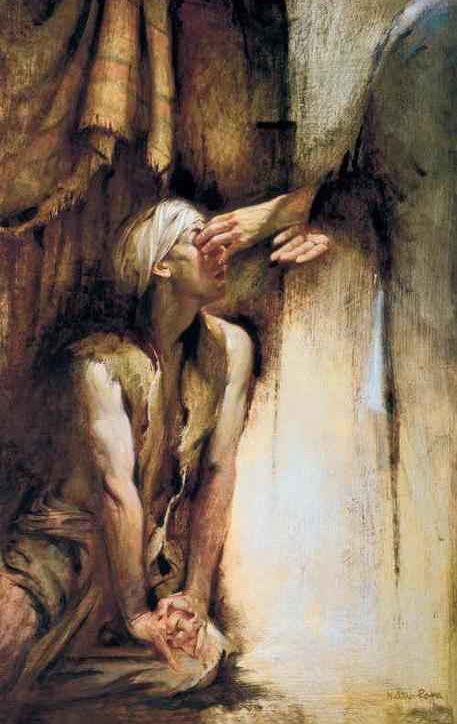 """""""...ő pedig körülnézett, és meggyógyult, és tisztán látott mindent."""" Márk 8:25,"""