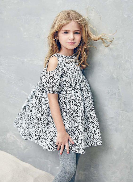 100 модных идей: детская мода 2017 года весна - лето на фото