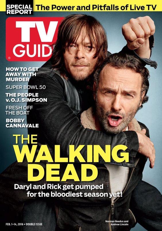 """Norman Reedus Brasil on Twitter: """"Norman e Andrew na capa da revista TV Guide. Melhor capa ou melhor capa?  https://t.co/FavsrHyy1C"""""""