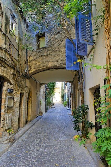 Rue d'Antibes, France