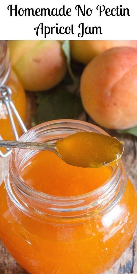 Homemade No Pectin Apricot Jam