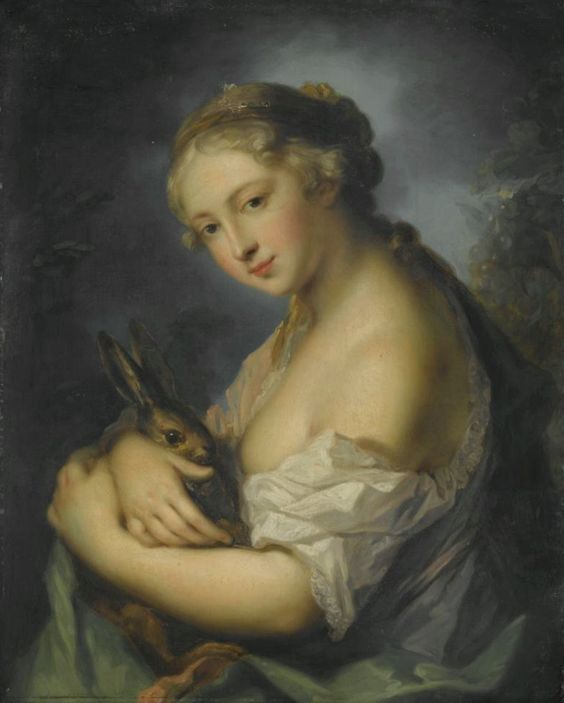 Four Seasons 01 Painting by Rosalba Carriera | Oil Painting:
