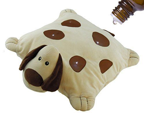 Doggie - Aroma Pets Aromatherapy (Essential Oils) & LED Night Light - Kids Pillow use w/ Young Living Essential Oils, doTerra, Aura Cacia, Natures Sunshine & NOW Foods, http://www.amazon.com/dp/B017MQ7ING/ref=cm_sw_r_pi_awdm_qMCMwb07X42E0
