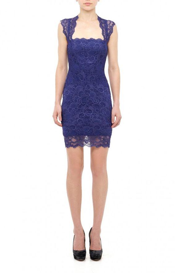 EVA LACE DRESS - $420 @ Nicole miller