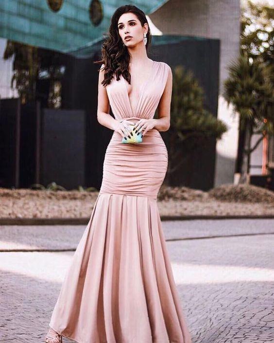 Vestido de formatura sereia charme