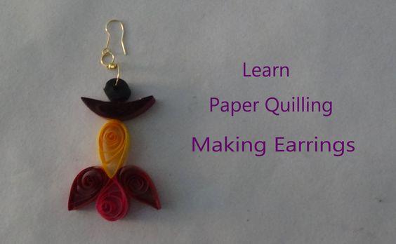 paper quillings  earrings