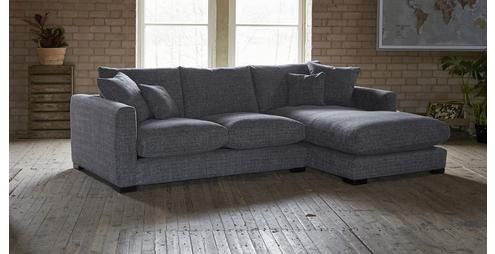 Dillon right hand facing small chaise end sofa dillon for Chaise end sofas