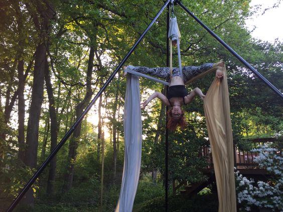 Regal silks #suspendedcitizens #aerialistsforhigher