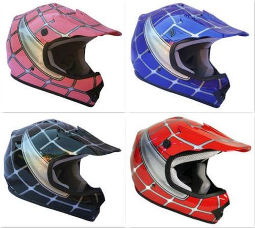 Details About Youth Dirt Bike Helmet Motocross Helmet Offroad Dirt Bike Helmet Atv Spiderman Youth Dirt Bikes Motocross Helmets Black Spiderman