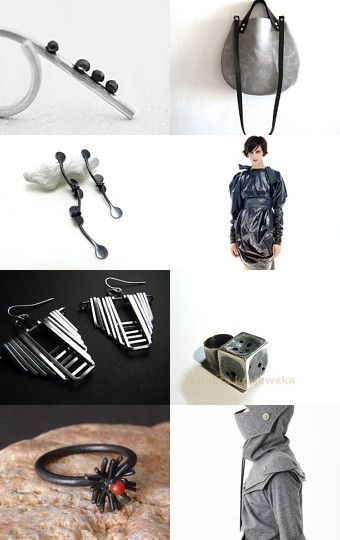 Silver All Over by Marie A. on Etsy--Pinned with TreasuryPin.com