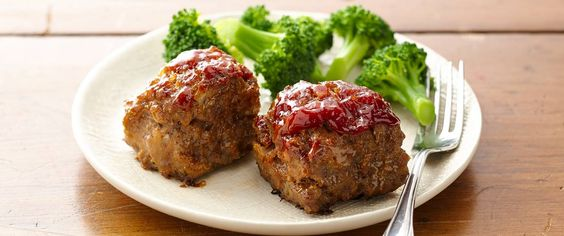 Slash the bake time of meatloaf when you make mini loaves. Meatloaf is now doable for weeknights!: