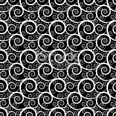 Abstract seamless pattern with waves Royalty Free Stock Vector Art Illustration