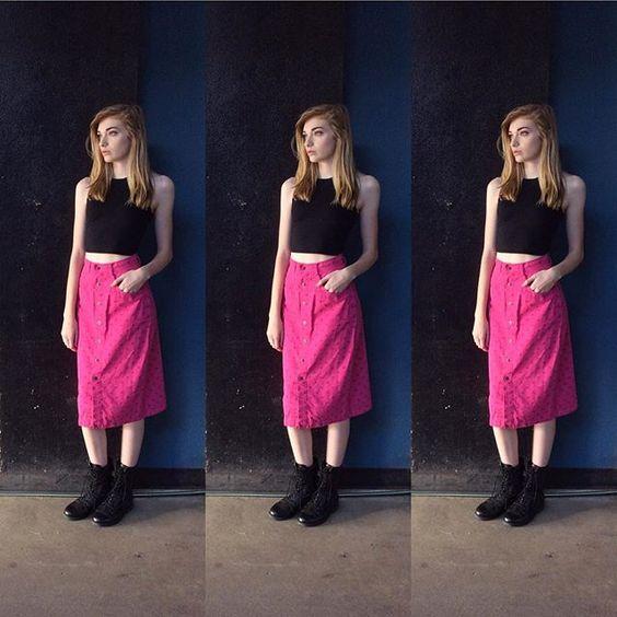 90's ESPIRIT skirt. So rad. Size S/27/28; $36. #ootd #oneofakind #espirit #90s #style #pink #skirt #fashion #fashionisart #vintagestyle #vintagefashion #siouxfallsstyle #dtsf #makeastatement