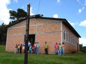 Igreja ucraniana da comunidade de Rio das Pedras, em Guarapuava