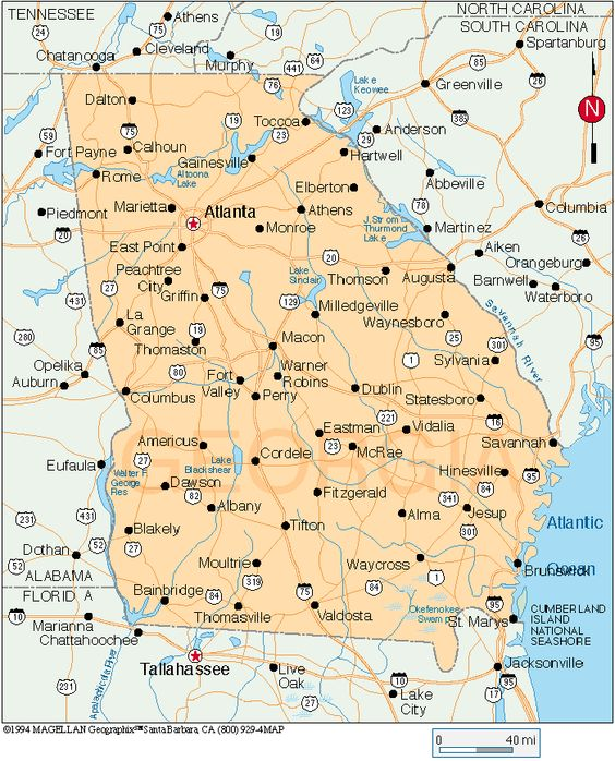 Summerville GA Map MapQuest My Home In North Ga Pinterest - North georgia map with cities