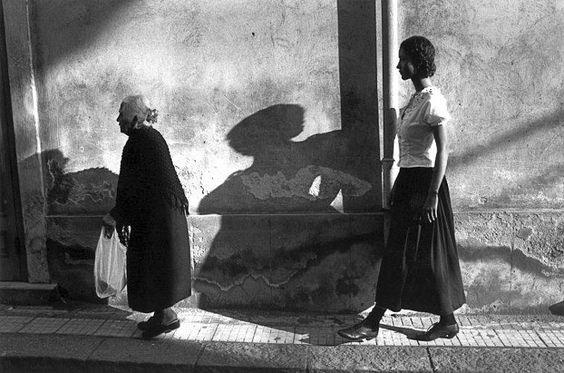 Model Marpessa in Sicily by Ferdinando Scianna