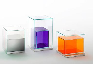 glass box. Glassitalia