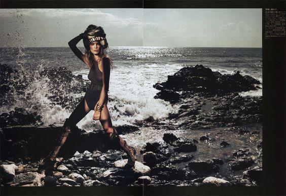 when goddess rules the sea, daria werbowy