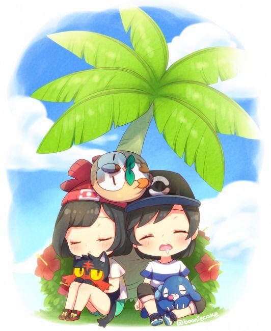 Pokemon sun and moon |♡ ✿ ♡ http://booniecake.tumblr.com/post/144221551625