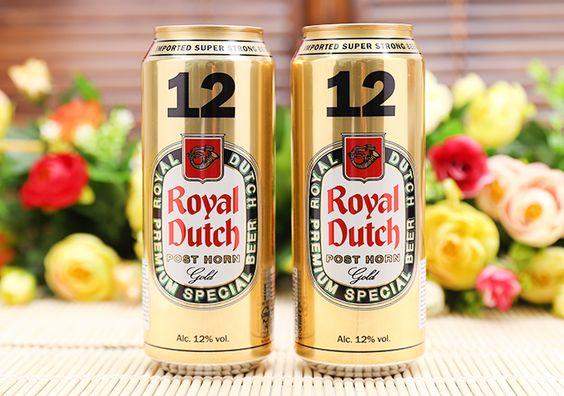 Bia Royal Dutch Gold Super Strong 12% - Lon 500ml