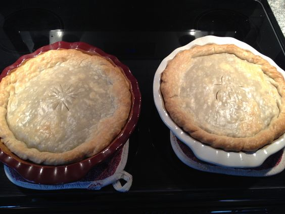 Canadian French Meat Pie (tourtière) Grandma French's Recipe  Christmas 2013 (learning the secret family recipe