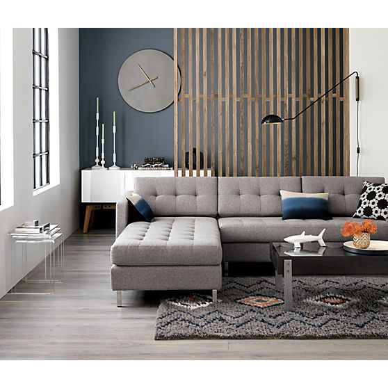 Grey Sectional Sectional Sofas And Grey On Pinterest