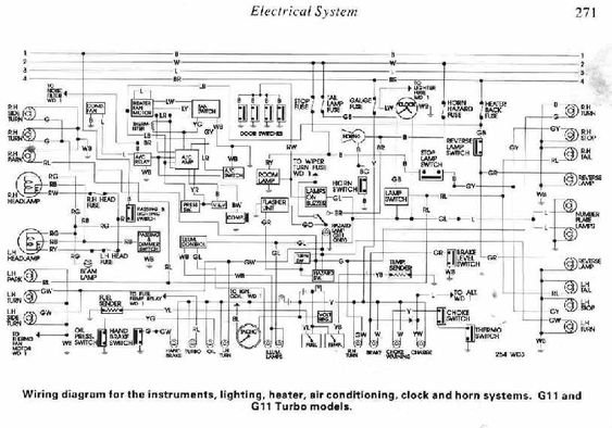 32be943acc7ad4409db826709551a000 daihatsu charade g11 and g11 turbo electrical system diagram all 1990 daihatsu rocky radio wiring diagram at bayanpartner.co