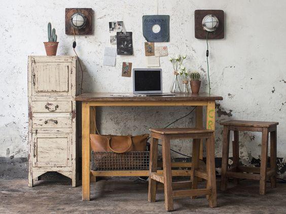 Vintage School Science Lab Tables By Esavian Esa Vintage School School Furniture Decor